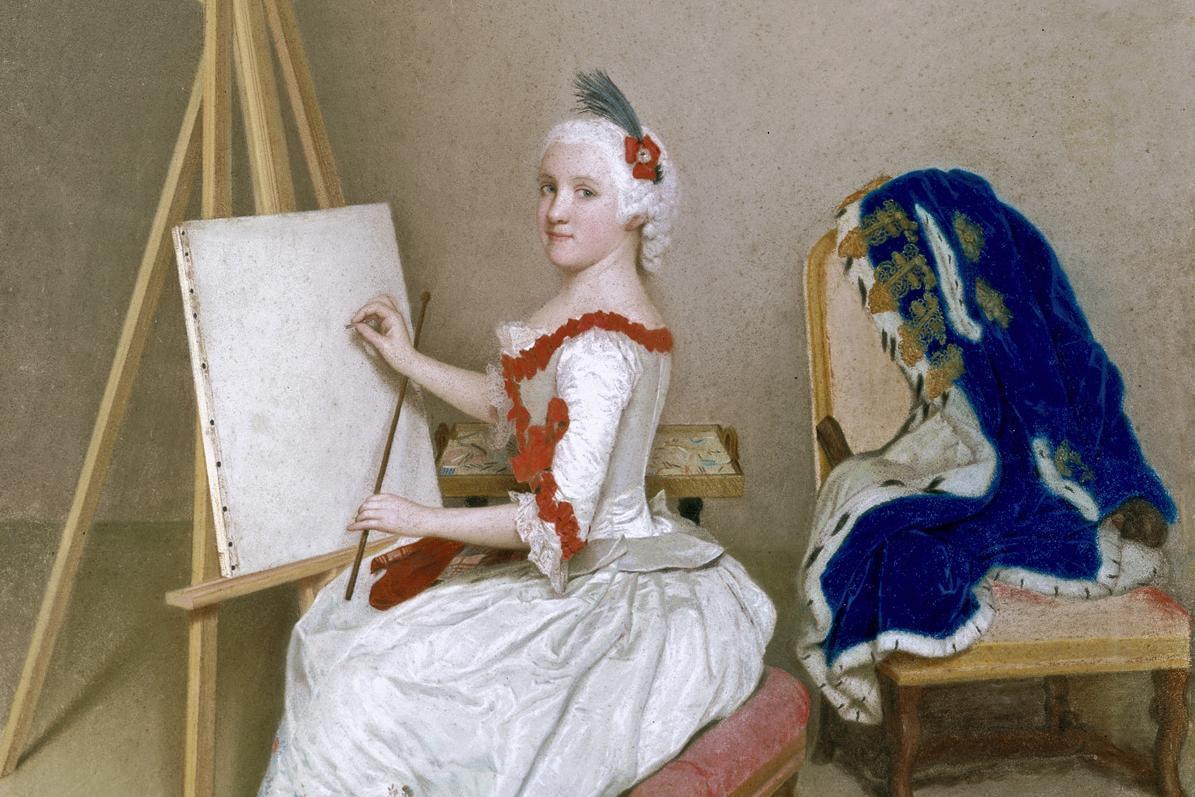 Bildnis der Karoline Luise von Baden; Foto: Staatliche Schlösser und Gärten Baden-Württemberg, Urheber unbekannt