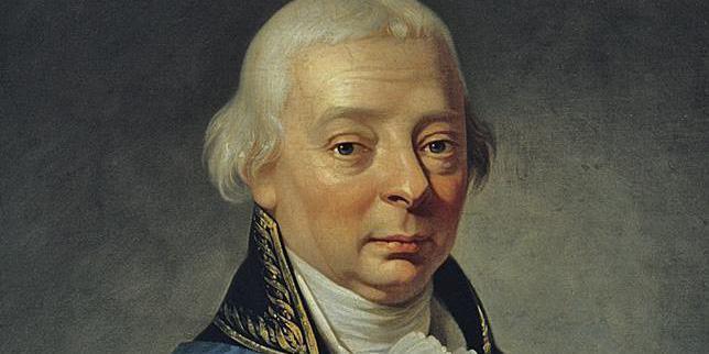 Porträt von Großherzog Karl Friedrich, Begründer des Botanischen Gartens Karlsruhe; Foto: Staatliche Schlösser und Gärten Baden-Württemberg, Steffen Hauswirth