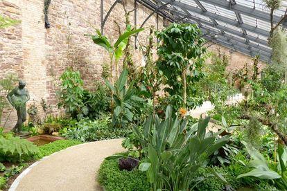 Botanischer Garten Karlsruhe, Warm- oder Tropenhaus