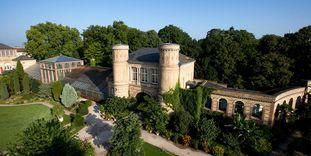 Karlsruhe Botanical Gardens,  Conservatories