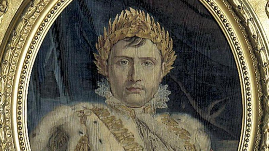 Bildnis Napoleon Bonaparte, Detail