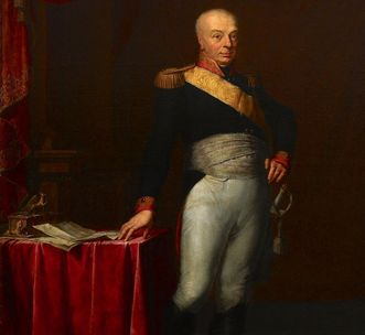 Bildnis des Großherzogs Karl Friedrich von Baden, der Begründer des Botanischen Gartens Karlsruhe